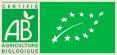 Logo AB et bio européen pour les vins du Domaine viticole Bio Au 7ème Clos à Visan.