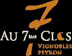 Logo Domaine au 7ème Clos