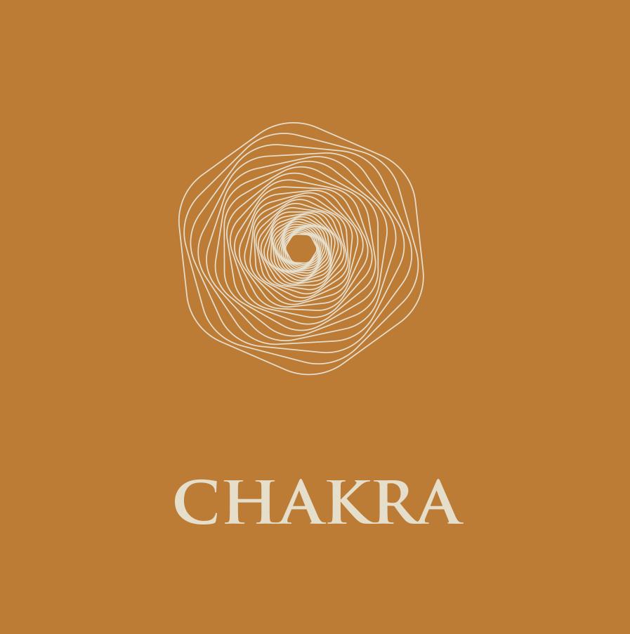 Logo Chakra, vin Bio, Visan, Vaucluse.
