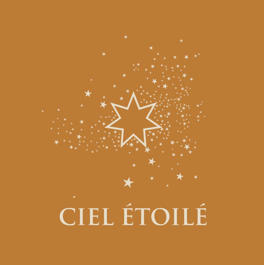 Logo Ciel étoilé, vin Bio à Visan, Domaine au 7ème Clos, Vaucluse.