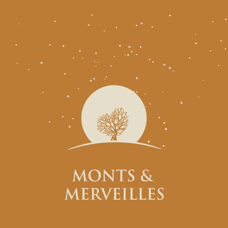 Logo Monts & Merveilles, vin Bio à Visan.