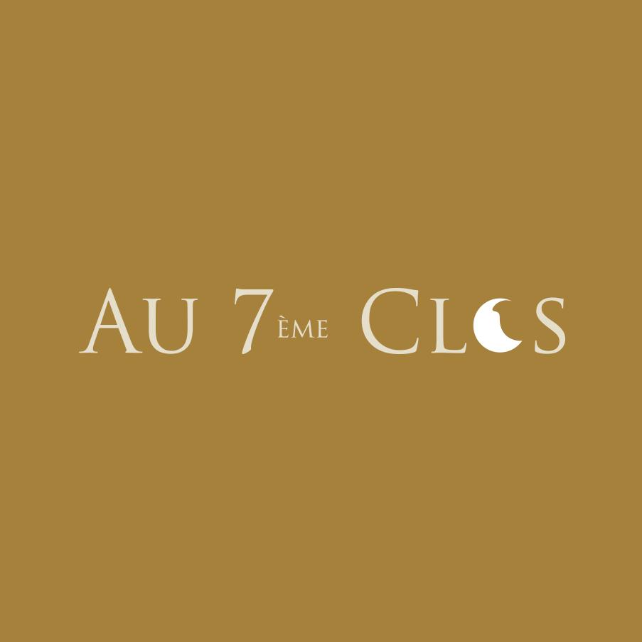 Logo au 7ème Clos, domaine viticole Bio dans le Vaucluse, à Visan.