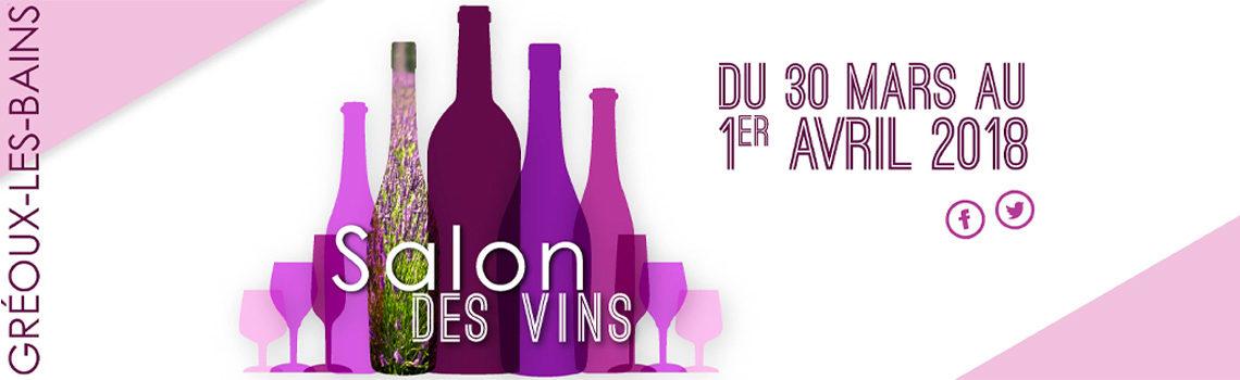 Le domaine viticole biologique Au 7e Clos à Visan est au Salon des vins et de la gastronomiede Gréoux-les-Bains 2018.
