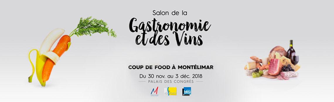 Salon de la gastronomie et des vins 2018 à Montélimar.