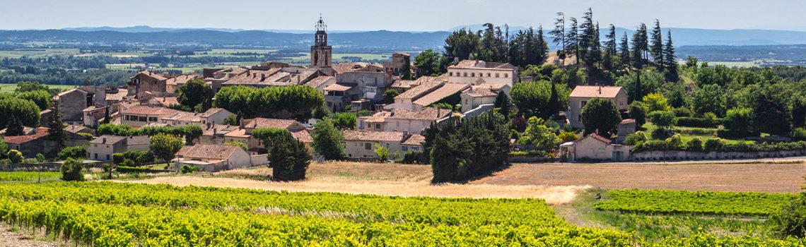 Le domaine viticole biologique Au 7ème Clos au ban des vendanges de Visan 2019.